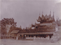 The Mogaung kyaung, [Mandalay]